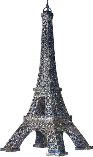 CLEVER PAPER- Puzzles 3D Torre Eiffel, Color Gris (142892)