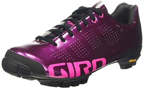 Giro Damen Empire Vr90 MTB Radsportschuhe - Mountainbike, Mehrfarbig (Berry/Bright Pink 000), 39 EU