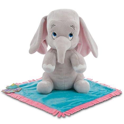 Disney's Babies Dumbo Plüsch Weiche Puppe mit Blanket - Small - 10