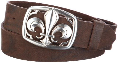 Mgm - Ceinture - mixte adulte - Marron (Braun) - FR : 100 cm (Taille fabricant : 100 cm)