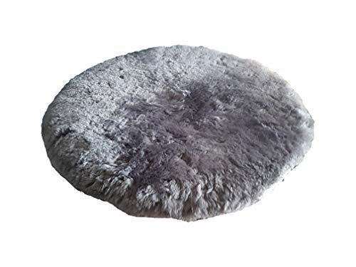Naturasan - Cojín de Piel de Cordero (Relleno de Espuma viscoelástica, 38 cm)