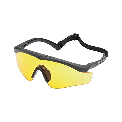 Revision Brille Sawfly Max-Wrap Basic gelb Größe M