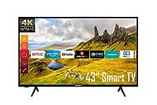 Telefunken XU43K521 43 Zoll Fernseher (Smart TV inkl. Prime Video / Netflix / YouTube, 4K UHD, HDR, HD+)©Amazon