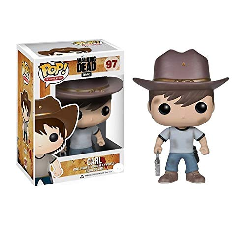 PY TV: The Walking Dead - Carl: Pop reizende Karikatur PVC-Abbildung mit Exquisite for The Walking Dead Fans Größe The Best Collection Verpackung: 10cm