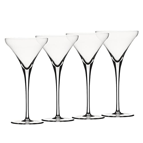 Spiegelau Willsberger Anniversary Martini Glasses, Set of 4