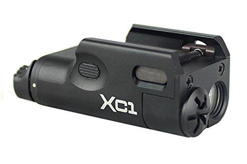 SF XC1タイプ LEDハンドガンライト BK