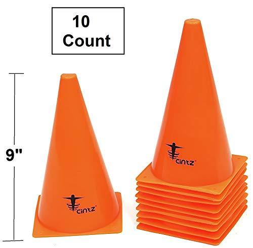 Cintz 9 Field Marker Cones