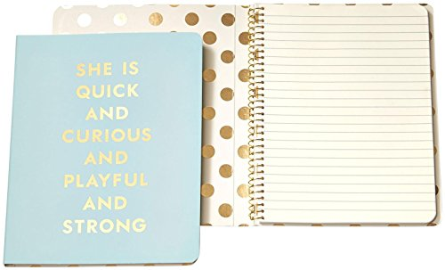 Kate Spade Notebook, Quick & Curious (Blue) (143527)