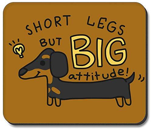 Mauspad - Dackel - Kurze Beine, große Haltung