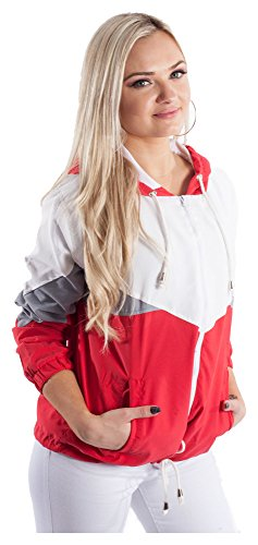 Loomiloo -  Giacca - Donna Rot X-Small