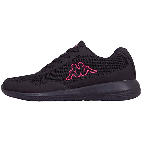 Kappa Damen Follow Oc Sneaker, 1122 Black Pink, 38 EU