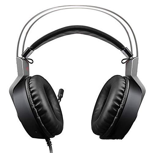 TNXB Casque de Jeu NOCTIC et Casque Xbox One et PS4, Casques de Jeu Soft Bass 7.1 Son Surround Casque de Jeu avec contrôle du Volume du Micro