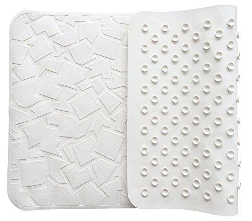 FeschDesign Non Slip Bath Tub Mat | PVC- & BPA-Free, Natural Rubber | Original GripTight (TM) Technology | 28
