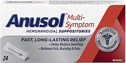 Anusol Suppositories 24 Tablets