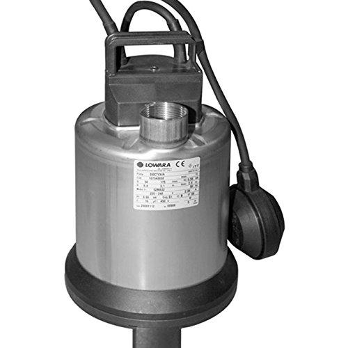 LOWARA DOC Sommergibile per acque sporche MONOFASE CON GALLEGGIANTE DOC7VX - HP 0,75 / 0.55 KW - 220V