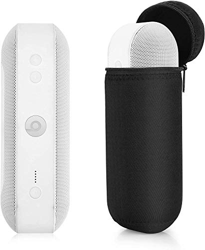 TXEsign Carrying Travel Case for Beats Pill+ Plus Portable Wireless Bluetooth Speaker Water-Resistant Lycra Zipper Speaker Protector Case Bag