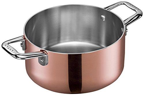 Scanpan Maitre 'D Copper Dutch Oven, 1.6 quart, Metallic