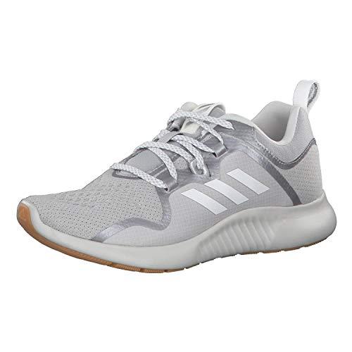 Adidas Performance Edgebounce - Scarpe da corsa da donna, Donna, grigio argento, 7.5 UK - 41 1/3 EU - 9 US