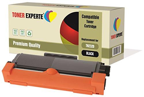 TONER EXPERTE® Compatible TN2320 Cartucho de Tóner Láser para Brother HL-L2300D HL-L2320D HL-L2340DW HL-L2360DN HL-L2365DW DCP-L2500D DCP-L2520DW DCP-L2540DN MFC-L2700DW MFC-L2720DW MFC-L2740DW