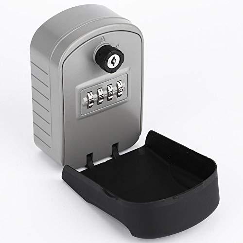 Caja de cerradura con cerradura de combinación Caja de cerradura de llave de alta seguridad para empresas, caja de almacenamiento de llaves de oficinas