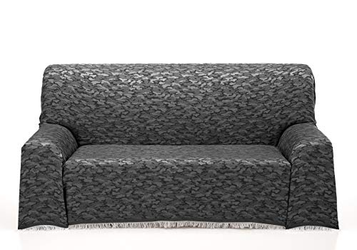 Cardenal Textil Camuflaje Foulard Multiusos, Negro, 180x290 cm