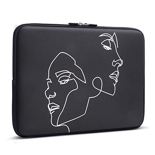 iCasso 13-13.3 Inch Laptop Sleeve Stick Figure, Neoprene Elegent Protective Notebook Bag Briefcase Cover Carrying Case MacBook Air, MacBook Pro, Tablet PC, Ultrabook, Netbook