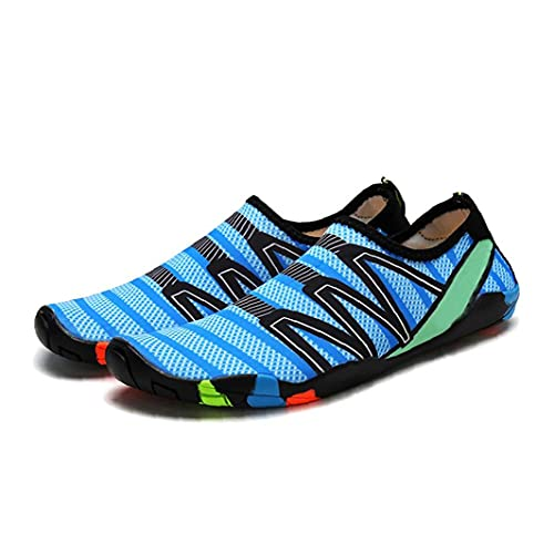 Sanfiyya MujerZapatos Agua y Mujeres de múltiples Funciones del Agua Zapatos Unisex Jugar Water Beach Calzado Transpirable Calcetines de Secado rápido Zapatos