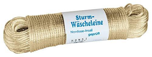 homiez Wäscheleine STURM Vollstahleinlage, Stärke 5 mm Länge: 50 m ummantelt