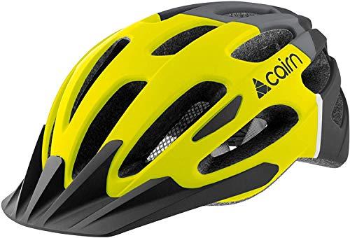 Cairn - Fahrradhelm Erwachsene Unisex Active Gelb Schwarz - Prism XTR - Rennrad Cross Country Berghelm