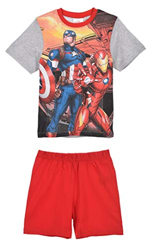 Avengers Jungen Kurz Pyjama Schlafanzug
