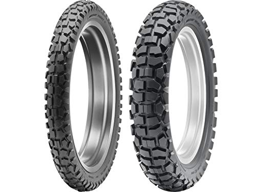 Great Features Of Dunlop D605 Dual Sport Motorcycle Tires Multiple Sizes Combo Set Front & Rear (1 F...