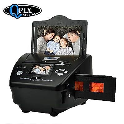 """Film Negative Scanner 22 MP 110 135 126KPK Super 8 Negative Photo Scanner 35mm Slide Film Scanner Digital Film Converter High Resolution 22MP 2.4"""" LCD"""