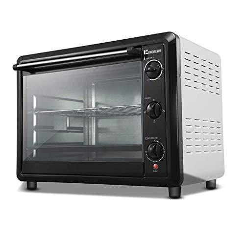 lizubing Toaster, Backofen, 60L Mini Oven einstellbare Temperaturregelung 50-250;C und 120 Minuten Timer 2200W Vierlagige Haushalt und Gewerbe Acht-Rohr Rotary Gabel voll automatische Backen