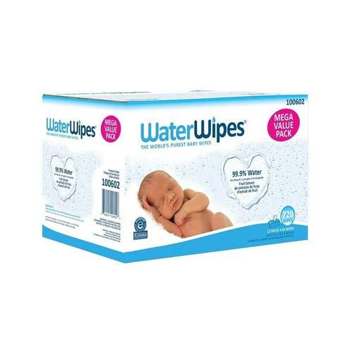 WaterWipes Mega Value Box 720 Babytücher, 6 kg