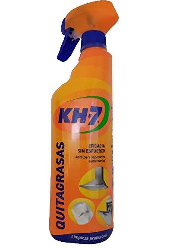 Quitagrasa Kh-7 Con Pistola Pulverizadora Apto Para Superficies De Uso Alimentario Botella De 650 Ml