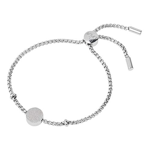 Ernstes Design Armreif evia Edelstahl A554 poliert graviert gekratzt Armband Neu