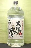 内藤醸造 焼酎 麦焼酎 25°大地の夢4L ケース単位 4本入 愛知県