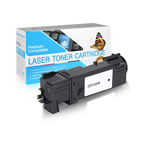 SuppliesOutlet Compatible Toner Cartridge Replacement for Dell 1320C / 310-9058 / DT615 / P237C / TP112 / 310-9059 / KU052 (Black,1 Pack)