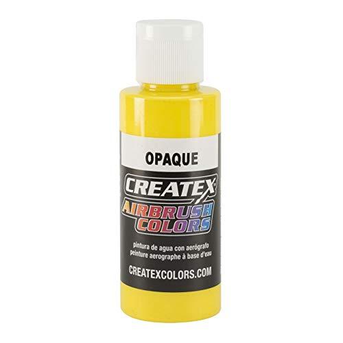 jaune aérographe Createx Airbrush Couleurs couleur 120ml 12 5204 Createx