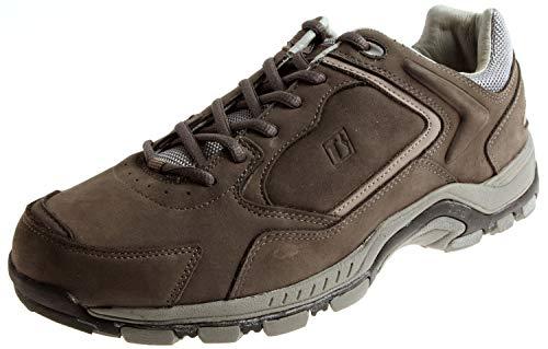 Lackner Wanderschuhe Trekkingschuhe Lederschuhe Leder Schuhe 6732 6754 Farbe Grau, Schuhgröße 43