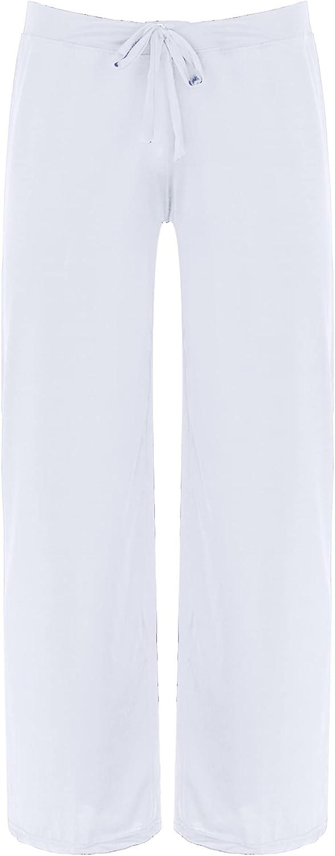 Loodgao Men's Drawstring Jersey Pajama Pants Homewear Loose Yoga Sweatpants Trousers Lounge Sleep Pjs Bottoms