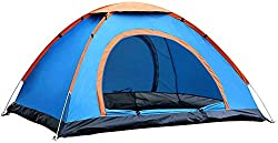 Kriva 4 Person Camping Tent Waterproof Tent for Fishing Travel Hiking Hunting Camping, 1Pc,Kriva