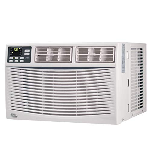 BLACK+DECKER BWAC08WT 8,000 BTU Energy Star Electronic Window Air Conditioner with Remote,White