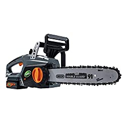 Scotts LCS31224S 12 in. 24-Volt Lithium Ion Cordless Chainsaw