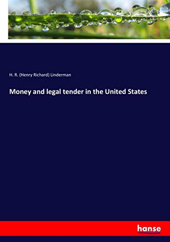 Money and legal tender in the United States