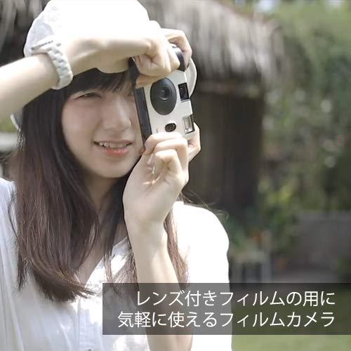 YASHICAMF-135mmフィルムカメラ35mmフィルム1本付属(ピンク)
