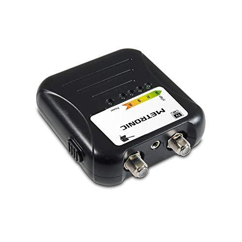 METRONIC Misuratore Segnale Dvb-Finder - Per L Orientamento Di Antenne Terrestri