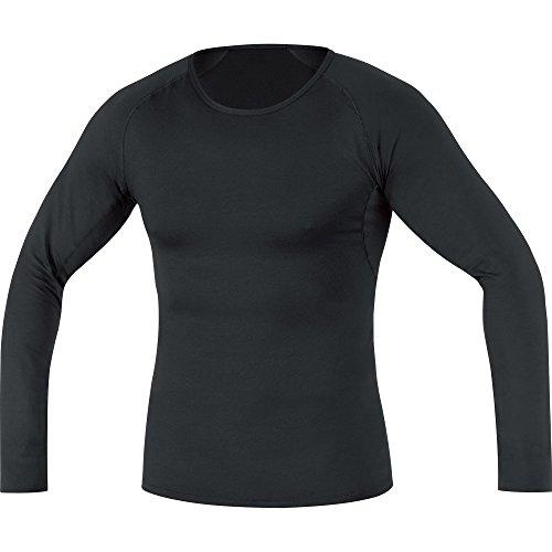 GORE WEAR Atmungsaktives Herren Thermo-Unterzieh-Shirt, Gore M Base Layer Thermo Long Sleeve Shirt, XXL, Schwarz, 100318