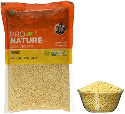 Pro Nature Organic Moong Yellow