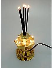 Tucasa DW-198 Electric Agarbatti Diya (Gold)